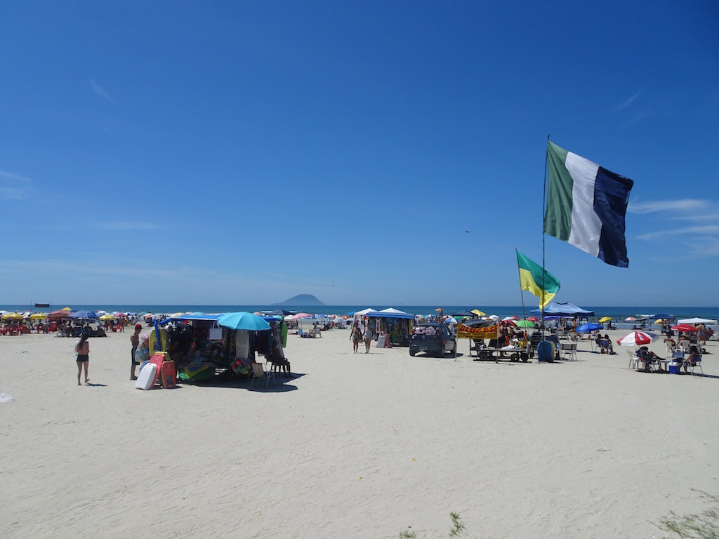 am Strand Beira Mar