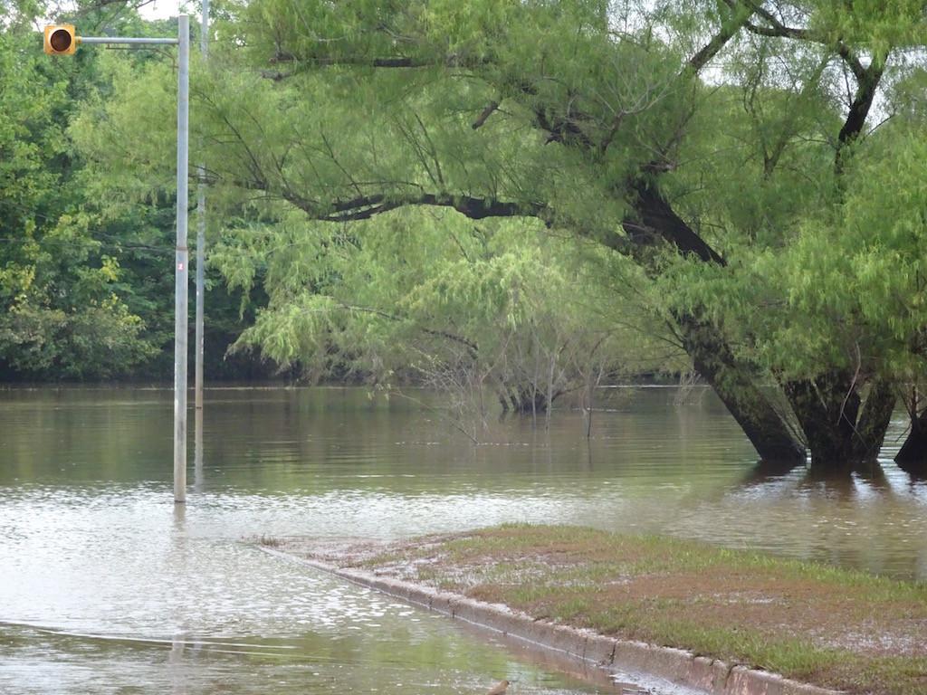 Strassenampel regelt auch den Wasserverkehr