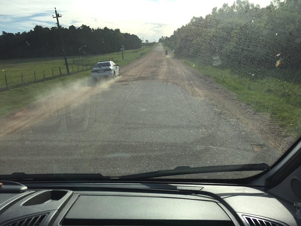 die Terma Arapey führt uns 70 km landeinwärts