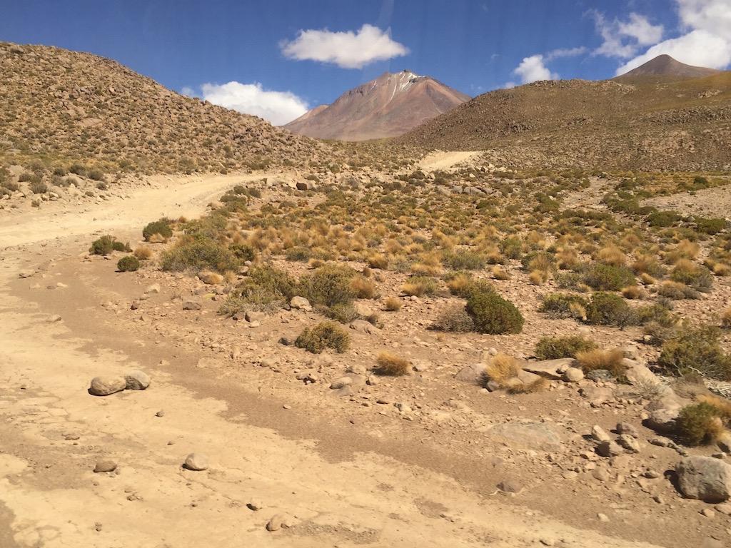 Wir geniessen die Fahrt durch die Vulcanlandschaft in einer Höhe von über 4'500 m