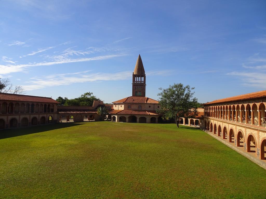 Klosteranlage in Atyrá - Casa de Retiro Marianela