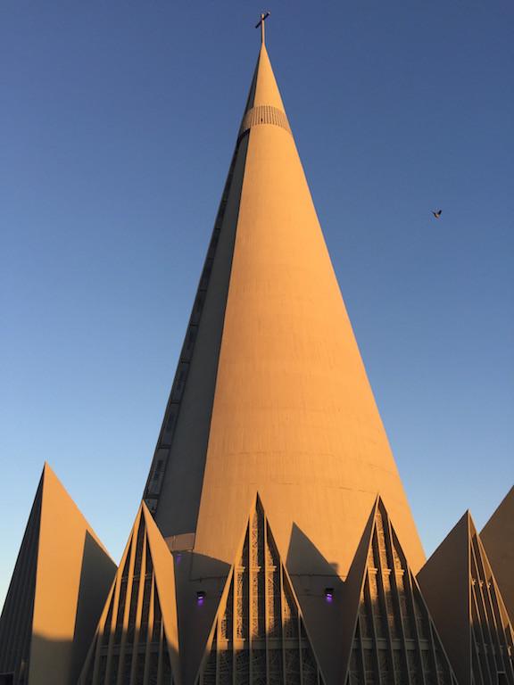 dann der Besuch der modernen Kathedrale!