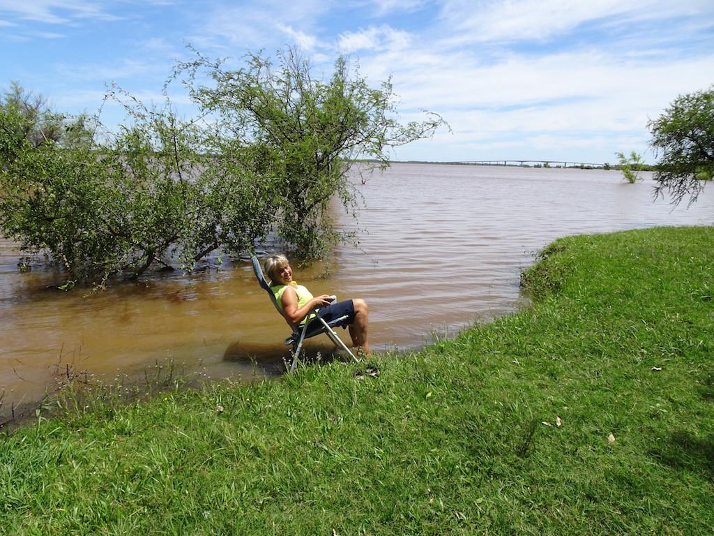 Rio Uruguay, die Grenze zu Argentinien