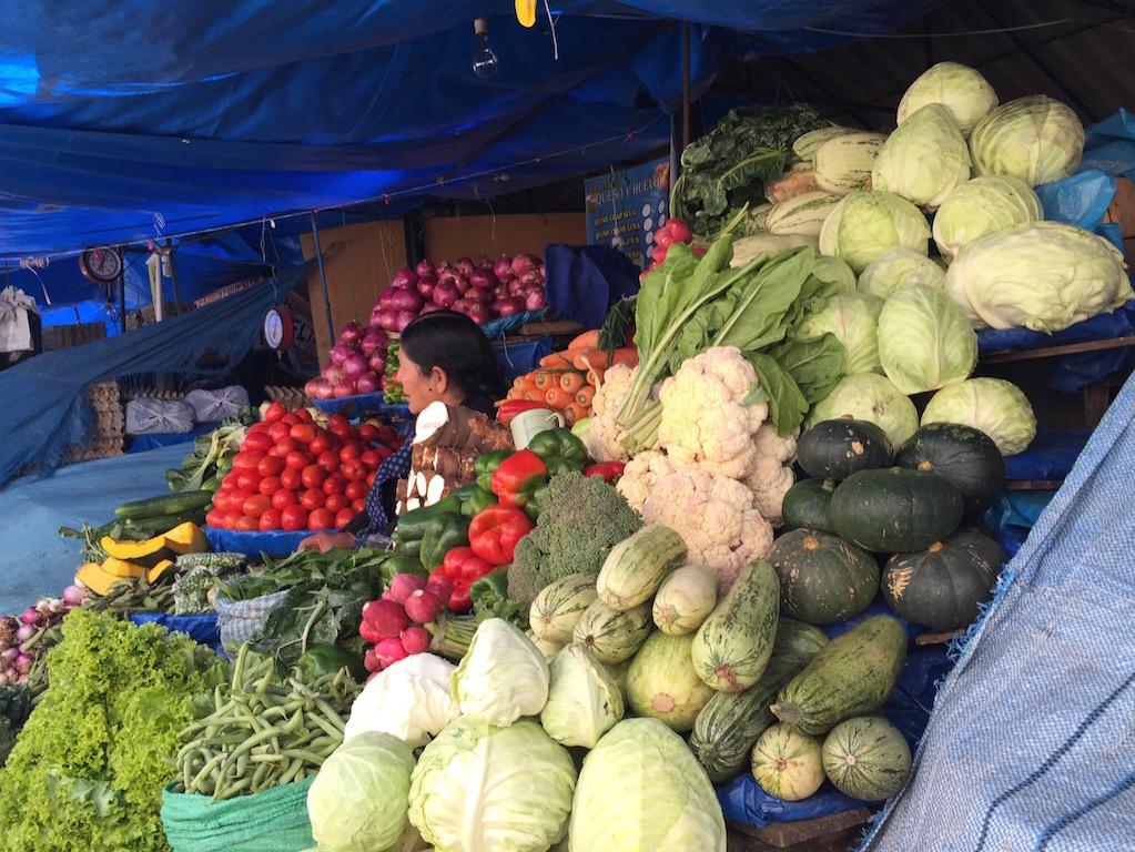 Der Markt in voller Pracht!