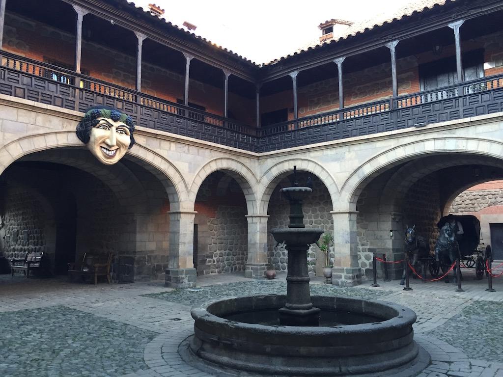 Bei der Führung in der 'Casa Moneda' erfahren wir viel über die Stadtgeschichte
