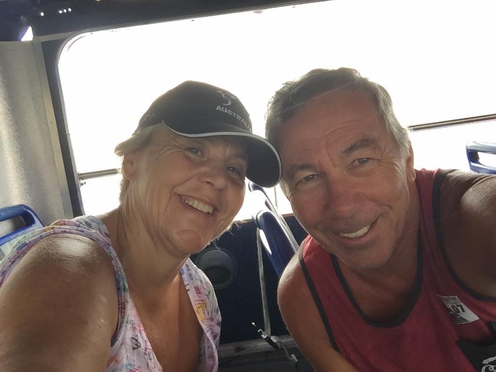 auch drinnen im Turistikbus!