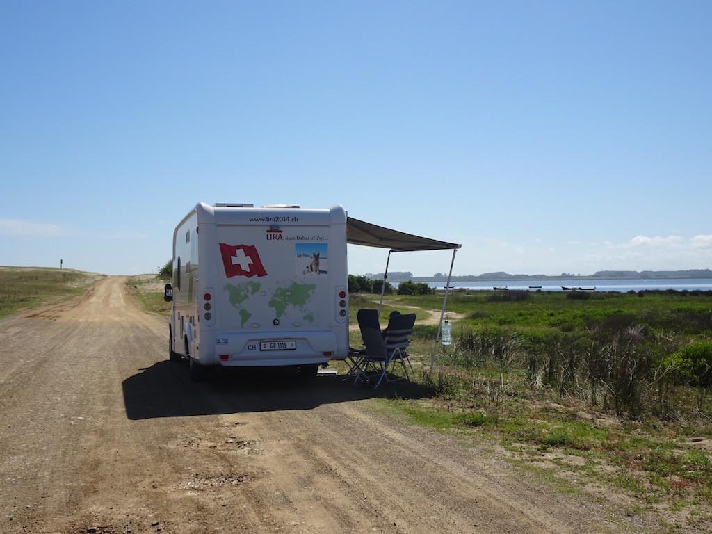 unser Silvesterstandplatz in der Laguna Rocha
