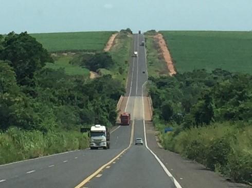 Die Brücke über den Rio Tietê ist gut getarnt!