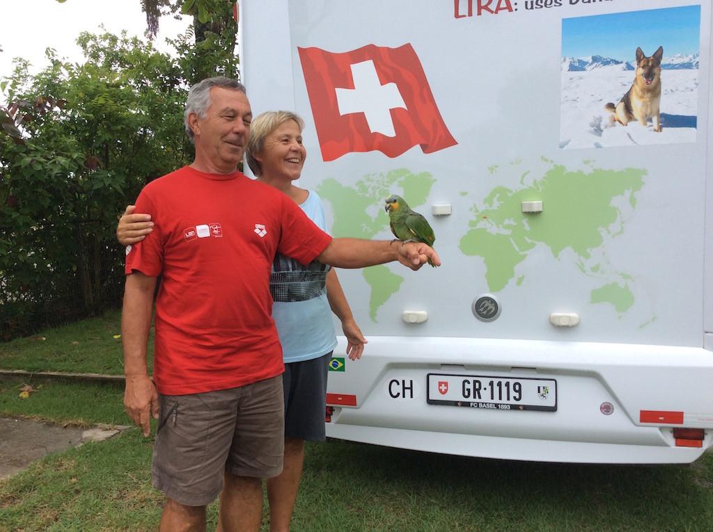 Abschied vom Camp Toni, von Mara und ihrem Papagei
