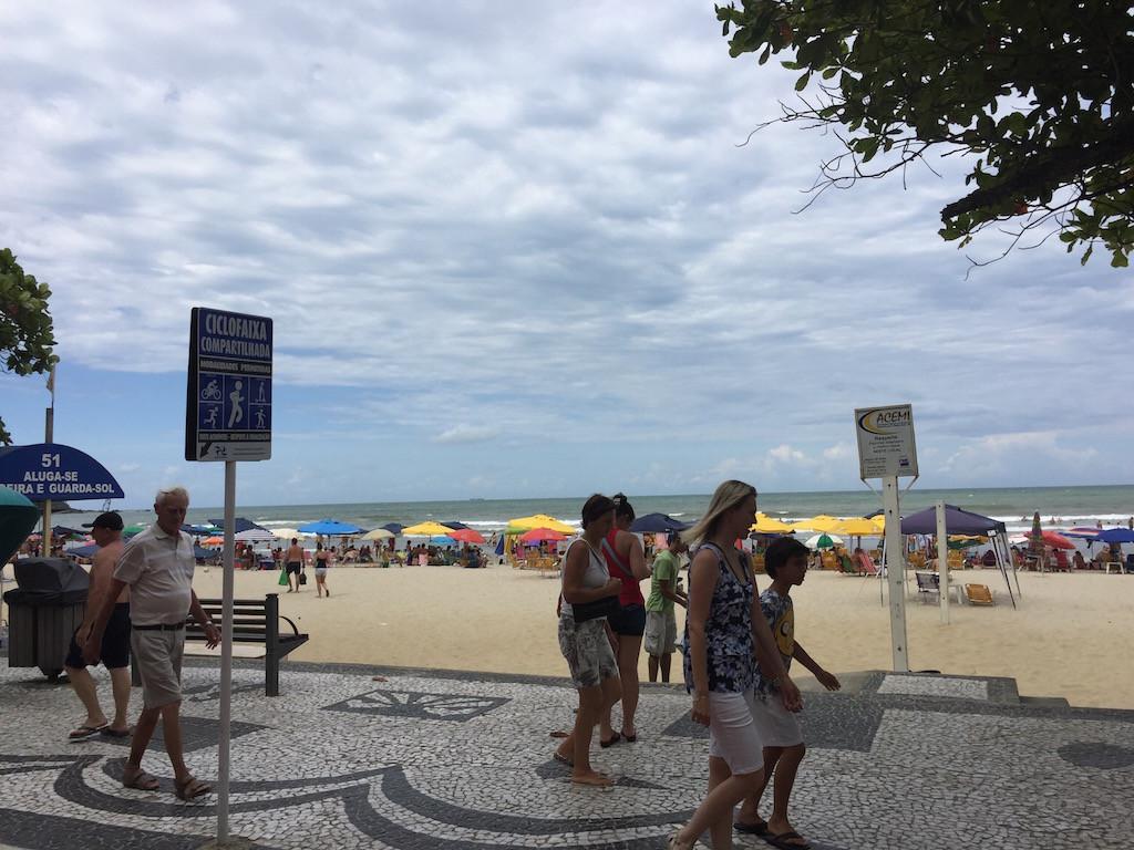 und der überfüllte Strand dazu!