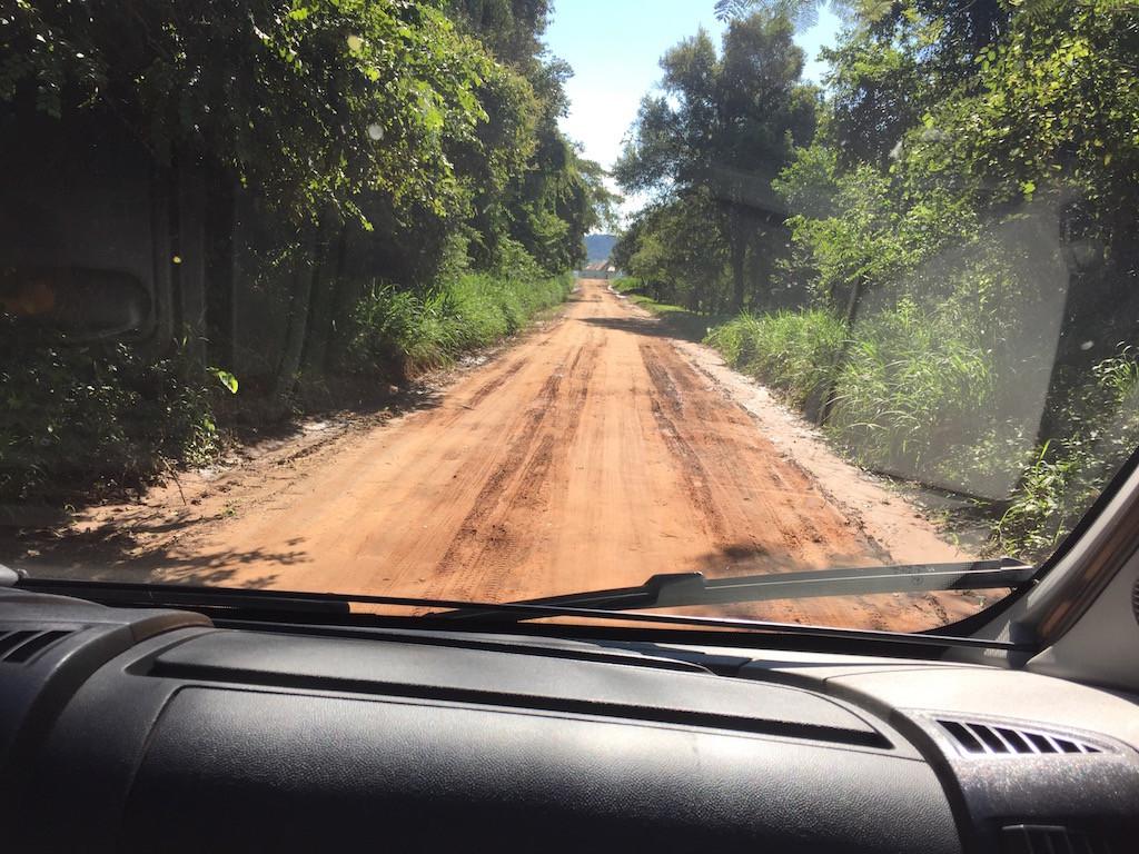 zurück zu unserem Camp am Paraná