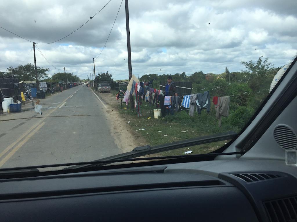 Clorinda: der Paraguay hat hier viel Unheil angerichtet!