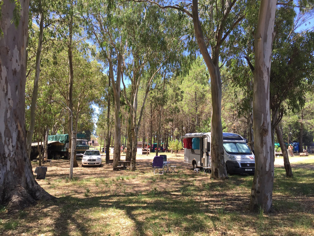 Playa Agraciada, so gefällt uns das Campingleben