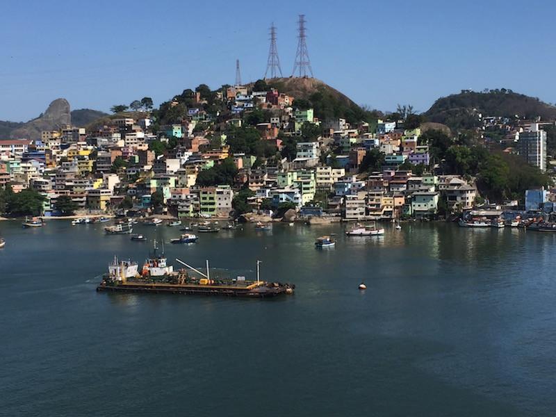 und schon zeigt sich Rio in Farben....