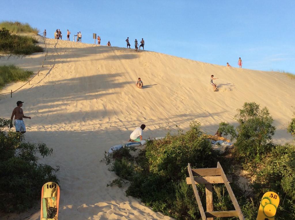 Übungshang der Sanddünenborder!