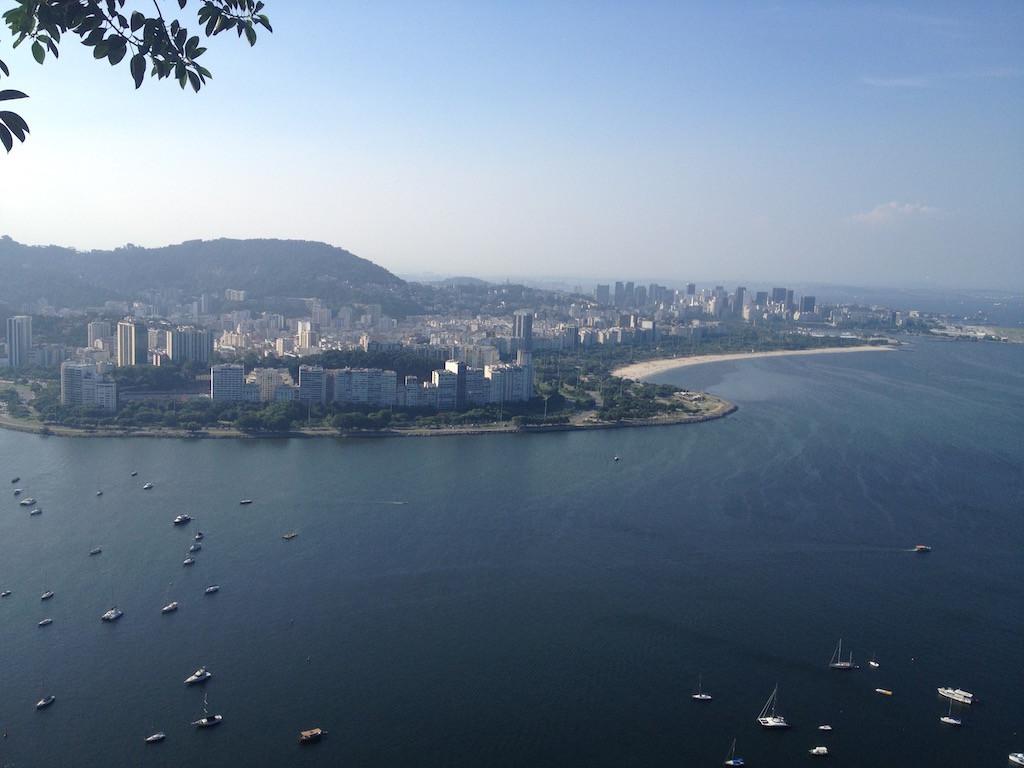 und Sicht auf Rio de Janeiro