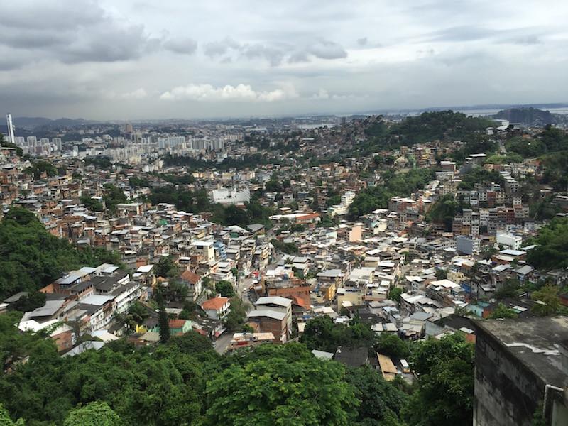 mit Sicht über Rio