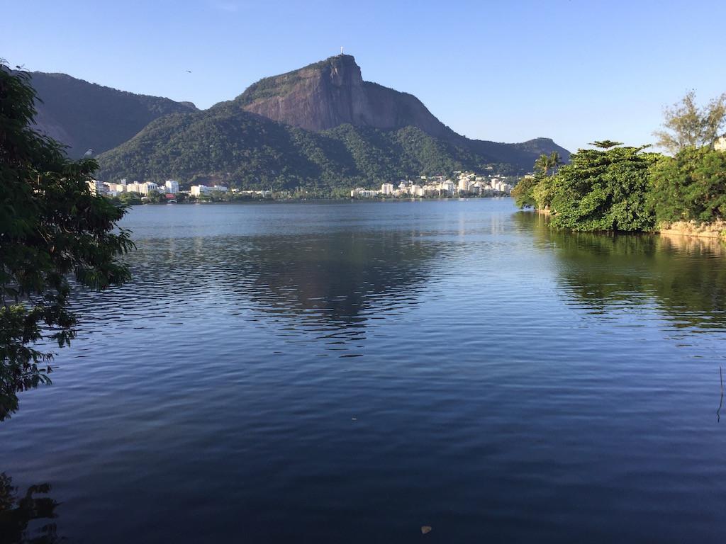 Lagoa Rodrigo do Freitas, mitten in Rio - unser Standort für einen Tag!