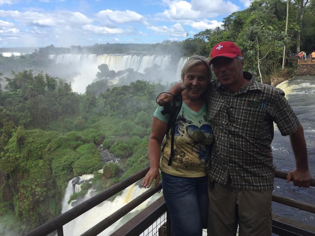 Ein herrlicher auf der argentinischen Seite der Iguaçu-Fällen!