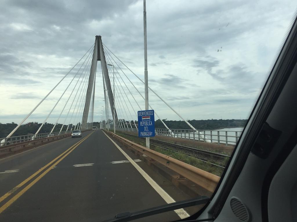 Grenzbrücke Argentinien - Paraguay