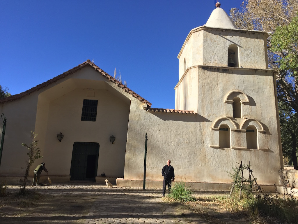 noch ein Besuch in Yavi, mit der wunderschönen Kirche