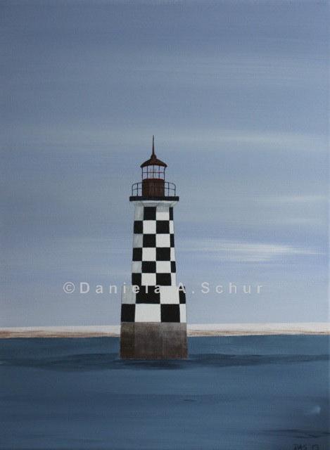 """DAS Art"" Leuchtturm Bretagne 1: Loctudy   (40x30)"
