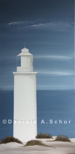"""DAS Art"" Leuchtturm England: Cornwall   (60x30)"