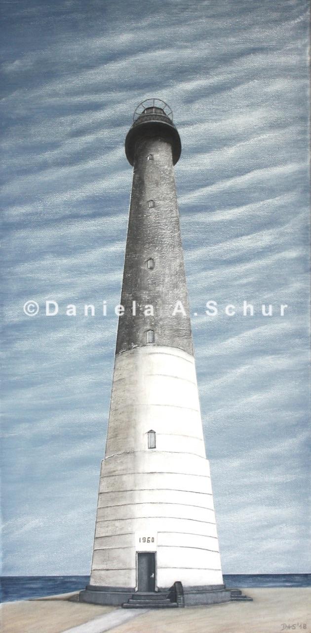 """""""DAS Art"""" Leuchtturm Estland 2: Sörve   (60x30)"""
