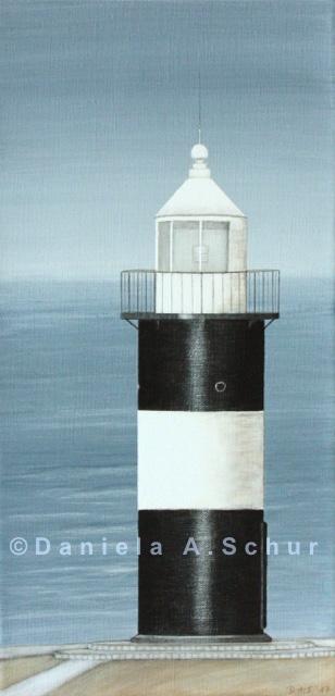"""DAS Art"" Leuchtturm Nordsee 13: Wremen   (40x20)"