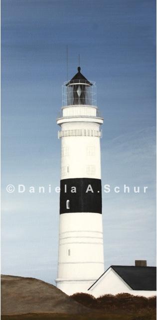 """""""DAS Art"""" Leuchtturm Nordsee 6: Sylt/Kampen   (60x30)"""