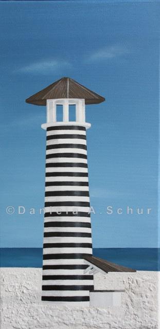 """DAS Art"" Leuchtturm Dominikanische Republik: Bayahibe   (60x30)"