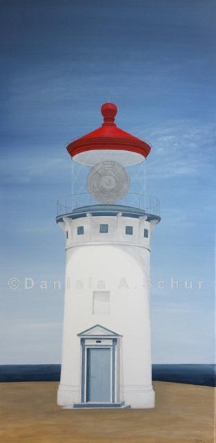 """""""DAS Art"""" Leuchtturm USA 2: Hawaii   (80x40)"""