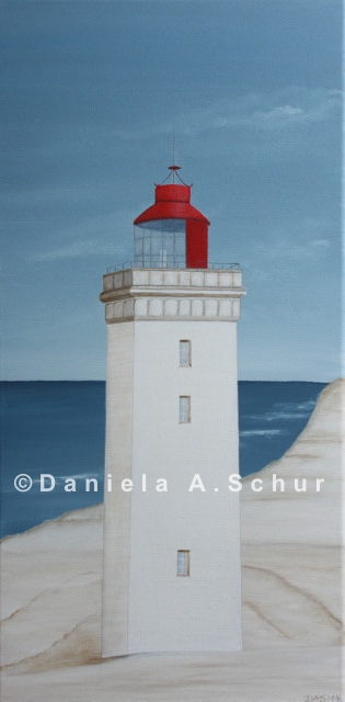 """DAS Art"" Leuchtturm Dänemark: Jütland   (60x30)"