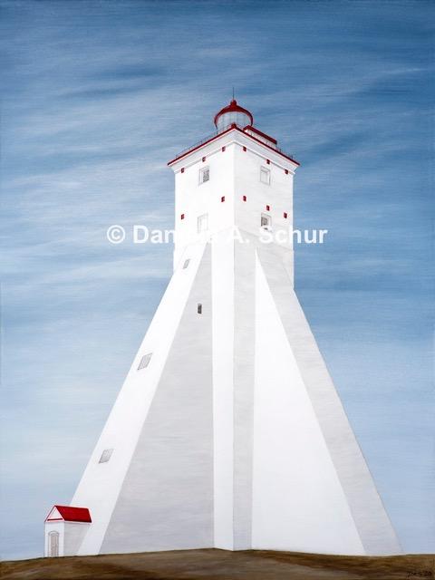 """DAS Art"" Leuchtturm Estland 4: Köpu   (80x60)"