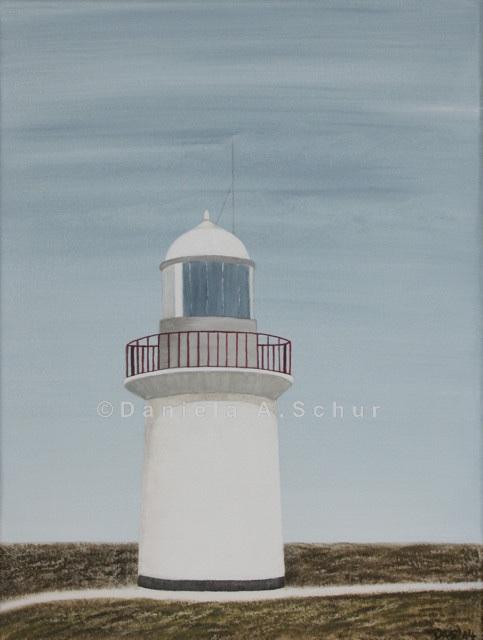 """""""DAS Art"""" Leuchtturm Irland 2: County Waterford   (40x30)"""
