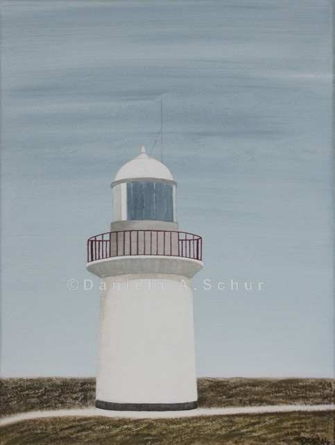 """DAS Art"" Leuchtturm Irland 2: County Waterford   (40x30)"
