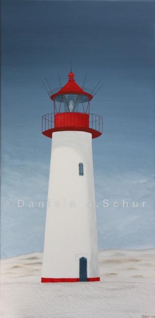 """DAS Art"" Leuchtturm Nordsee 5: Sylt/List   (80x40)"