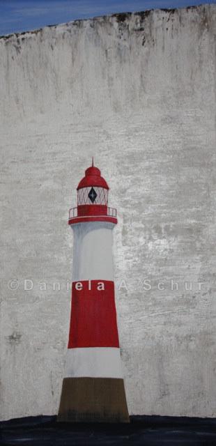 """""""DAS Art"""" Leuchtturm England: East Sussex   (60x30)"""