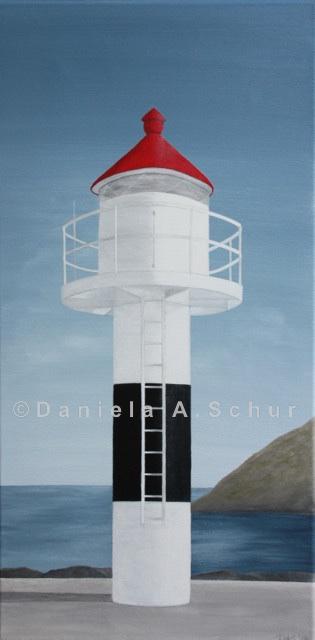 """""""DAS Art"""" Leuchtturm Norwegen: Lofoten   (60x30)"""