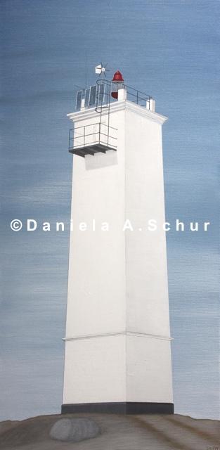 """DAS Art"" Leuchtturm Estland 3: Letipea   (80x40)"