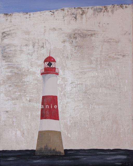 """DAS Art"" Leuchtturm England mini: East Sussex   (30x24)"