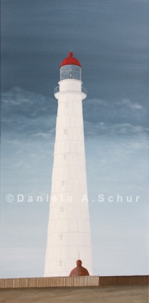 """DAS Art"" Leuchtturm Estland: Hiiumaa   (60x30)"
