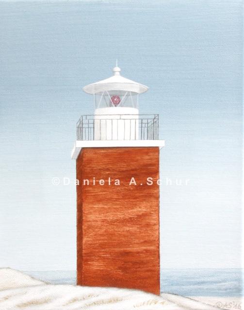"""DAS Art"" Leuchtturm Nordsee 10: Föhr    (30x24)"