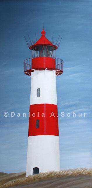 """DAS Art"" Leuchtturm Nordsee 9: Sylt/List   (100x50)"