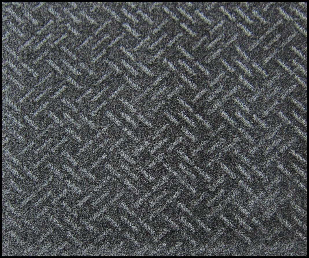 薄型除塵吸水マット 灰黒