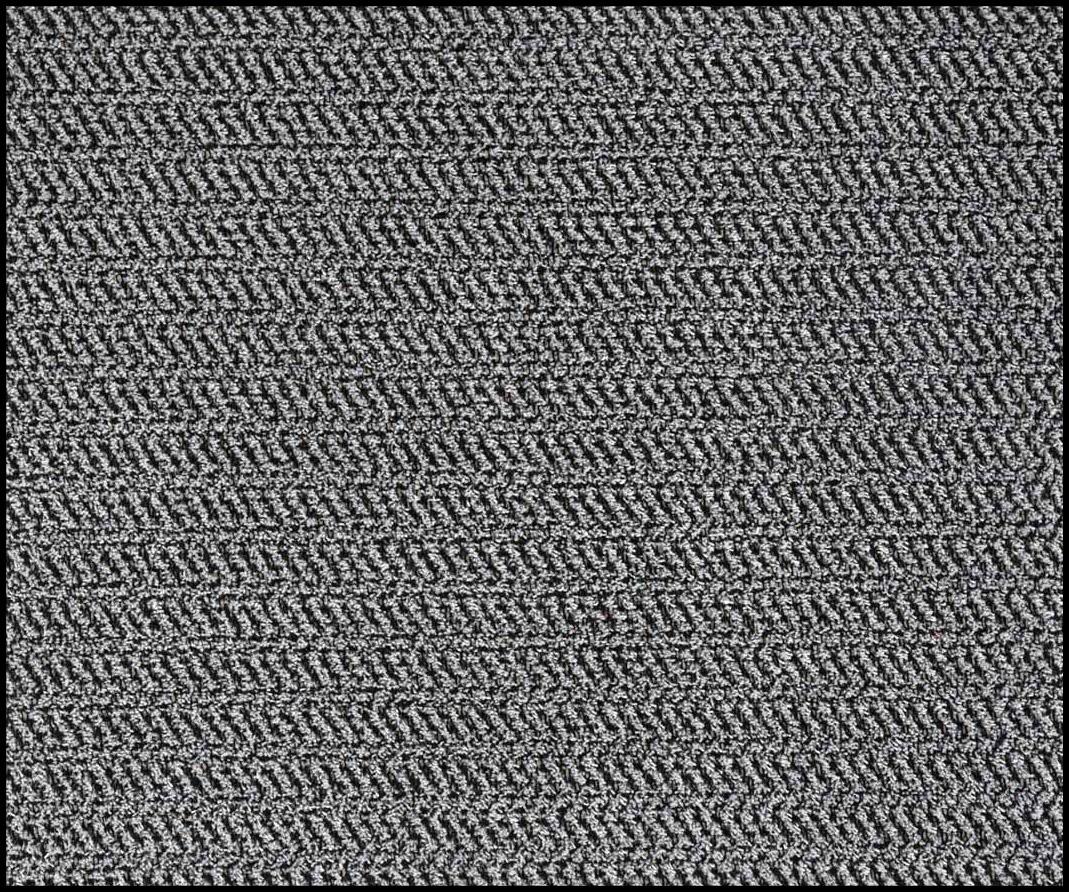 ディスクラッチマット 灰黒