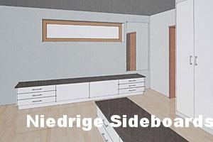 Niedrige Sideboards
