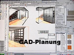 CAD-Planung bei Feinschliff