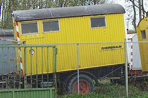 Feinschliff baut einen Bauwagen neu auf