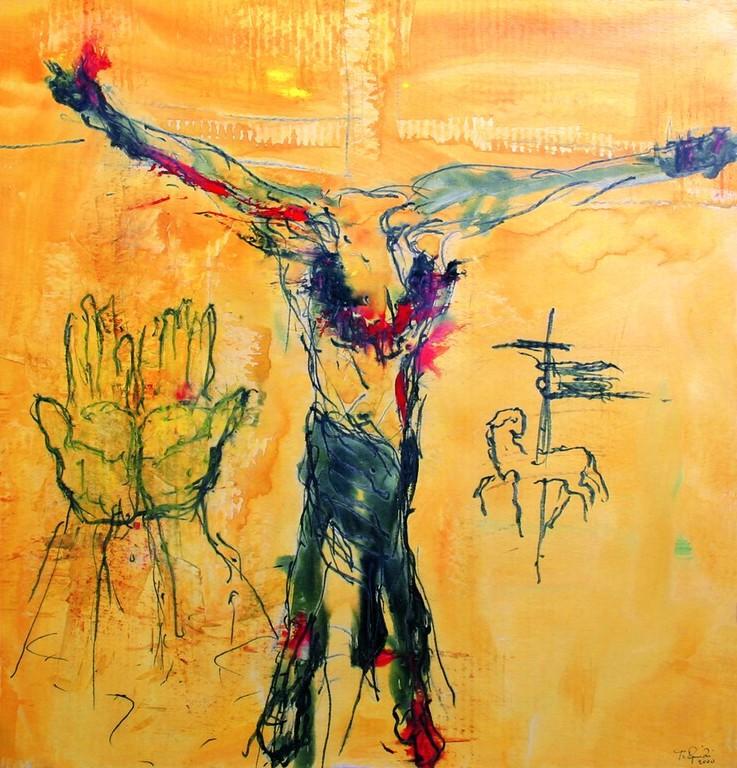 Zwölfte Station: Jesus stirbt am Kreuz